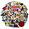 150PCS Anime Stickers,Top 3 Japanese Anime, Each 50PCS Stickers of Dragon Balls, My Hero Academia and Naruto for Laptop Water Bottles Luggage Bikes Notebook Decal #4