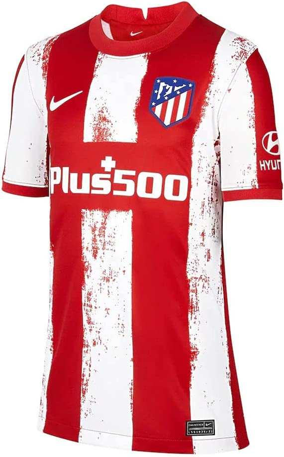 Nike 2021-2022 Atletico Madrid Max 50% OFF Home T-Shirt Football Jers Austin Mall Soccer