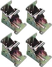Sonline 4-delig inklapbaar frame zelfremmend inklapbaar tafelstoelpoothouders scharnieren voor been, scharnierhouder voor ...