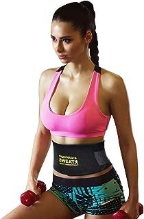 NRGready Waist Trimmer for Men & Women Premium Waist Trainer for Stomach and Back Lumbar Support Weight Loss Wrap Neoprene Ab Belt Belly Fat Burner Sweat Slimmer Belt