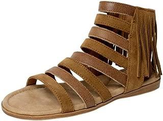 Womens Pisa Gladiator Sandal, Dusty Brown, Size 7