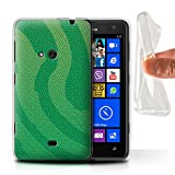 Phone Case for Nokia Lumia 625 Reptile Skin Effect Pit