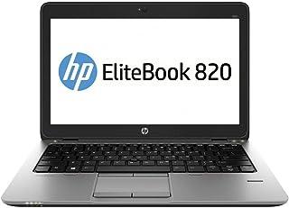 """HP EliteBook 820 G2 12.5"""" - Intel Core i5-5200U, 8GB RAM, 256GB SSD, Win 10 Pro (Renewed)"""
