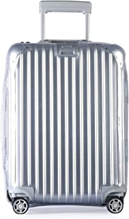 Luggage Cover Protector Clear PVC Suitcase Protective Cover with Grey Zipper for RIMOWA Topas