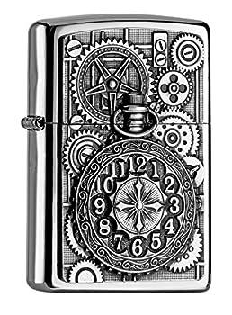 Zippo  Pocket Watch Chrome Polished Lighter / 2004742