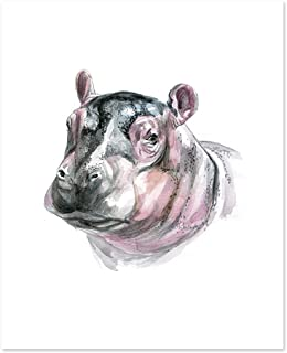 Best hippo painting art Reviews