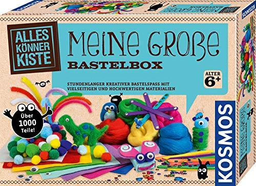 Kosmos 604431 Meine große Bastelbox, Bastel-Set