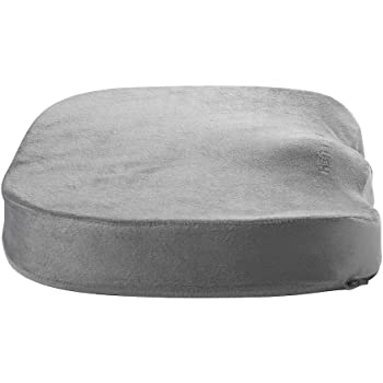 Amazon Com Extra Thick Foam Chair Cushion Portable Chair Pad Removable Washable Beige Slip On Cover 5 Inches Thick Added Pain Pressure Relief Health Personal Care