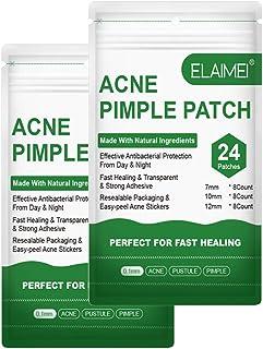 Acne Pimple Patch, Invisible Acne Treatment Zit Pimple Patches for Face Hydrocolloid Care Dress Blemish Spot Dots Absorbin...