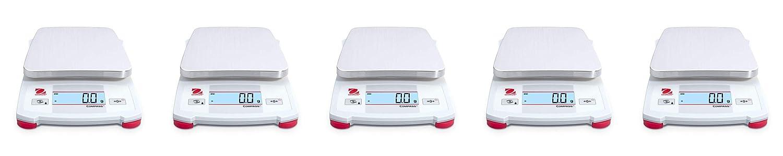 Fivе Расk White Ohaus Portable Balance CX1201 AM
