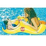 Nhsunray Gonfiabile galleggiante da piscina per genitore e bambino