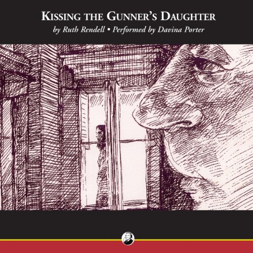 Kissing the Gunner's Daughter audiobook cover art