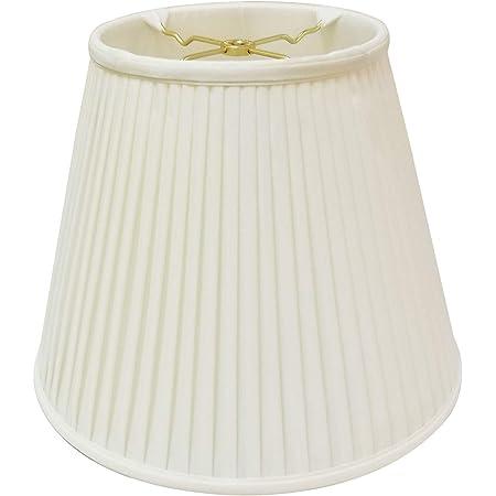 Royal Designs Deep Empire Side Pleat Basic Lamp Shade Eggshell 9 X 18 X 14 Bs 728 18eg