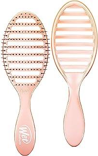 Cepillo húmedo Osmosis Speed Dry Hair ventilado diseño y ultra suave HeatFlex cerdas son sopladas seguras con mango ergonómico gestiona el enredo y el cabello incontrolable, coral, 1 unidad