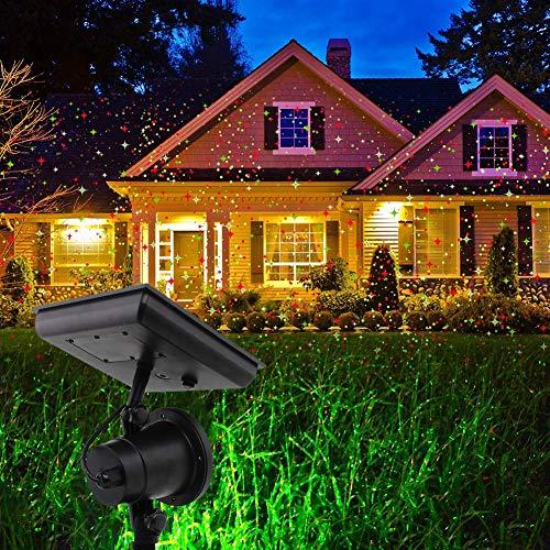 TYSYA Alimentato ad energia Solare proiettore di Natale All'aperto Cielo Stellato Palcoscenico Faretti Impermeabile Paesaggio Giardino...