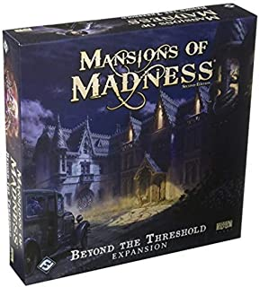 Fantasy Fight Games Mansions of Madness Beyond the Threshold Board Game - 14 Years & above