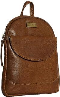Mini Backpack For Women and Girls - Leather Mini Backpack Unisex Bag Bookbag College Travel Bag