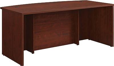 """Sauder Affirm Commercial Exec Desk, L: 71.10"""" x W: 35.43"""" x H: 29.29"""", Classic Cherry Finish"""