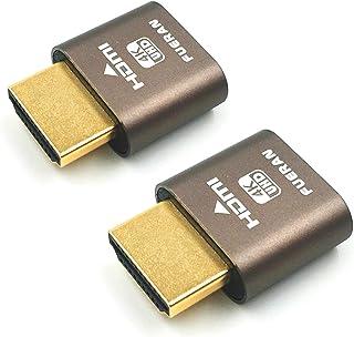 وصلة الدمية من فيران HDMI بدون رأس لمحبي عرض بدون رأس مناسب بدون رأس - 1920x1080 الجيل الجديد @60Hz-عبوتان