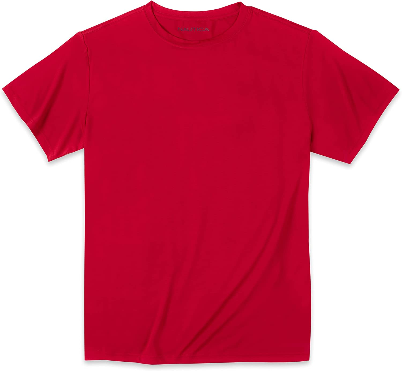 Nautica Big Boys' Active Short Sleeve Performance T-Shirt