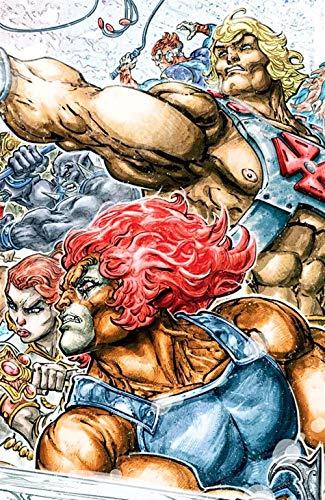 He-Man. Thundercats (Lion extra)