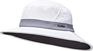 Coolibar UPF 50+ Men's Women's Fore Golf Hat - Sun Protective