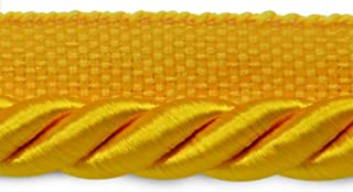 Winter Sun Yellow Gold 716 Imperial II Lip Cord Style# 0716I2 Color 9 Yard Value Pack Large Ivory 4874