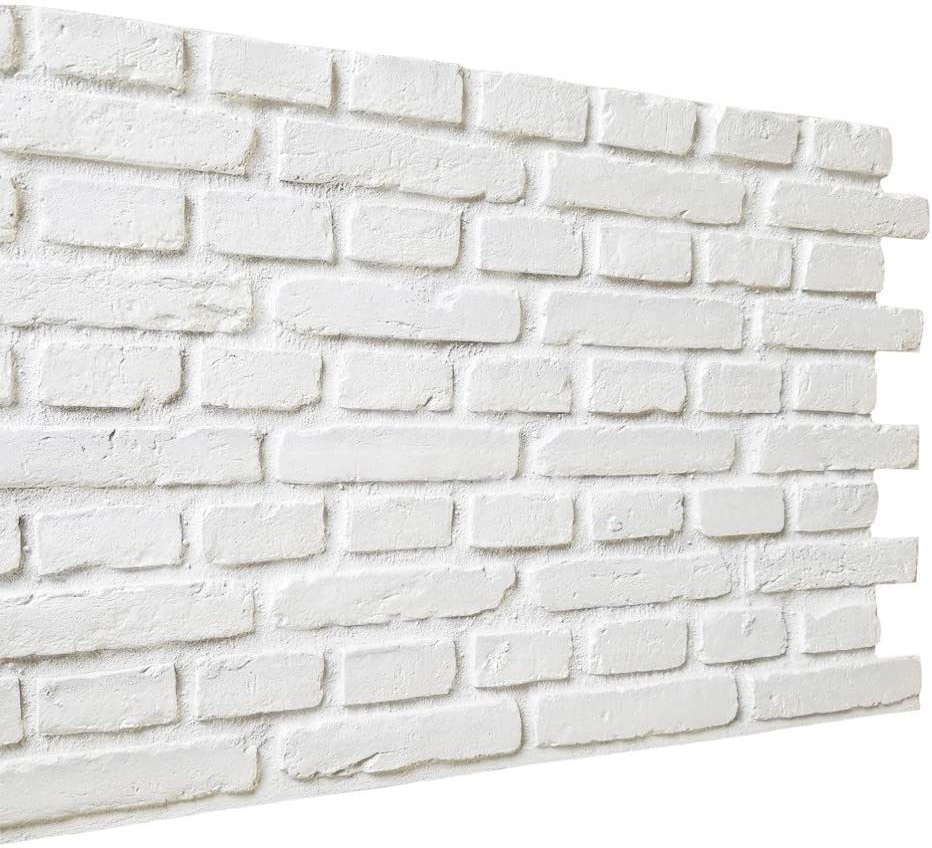 3D Brick Dealing Topics on TV full price reduction Wall Panels Stone De White Interior Tile for