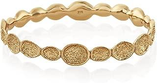 Andrea Infinity Pod Bangle Gold