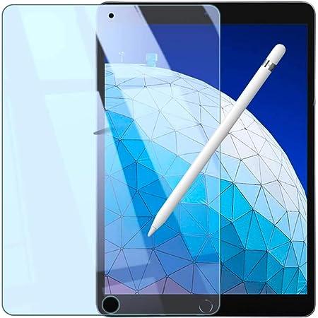 【Amazon限定ブランド】WANLOK iPad Pro 10.5 / iPad Air3 保護フィルム 強化ガラスフィルム ブルーライトカット 90% 日本メーカー 硬度9H ハードコーティング 液晶保護 フィルム 眼精疲労軽減 指紋防止 2.5D 0.3mm iPadAir3 10.5 Blue
