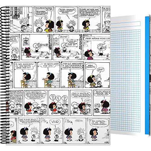 Mafalda 82402613 Kollektion Mafalda Ordner mit 3 Klappen Blatt mehrfarbig