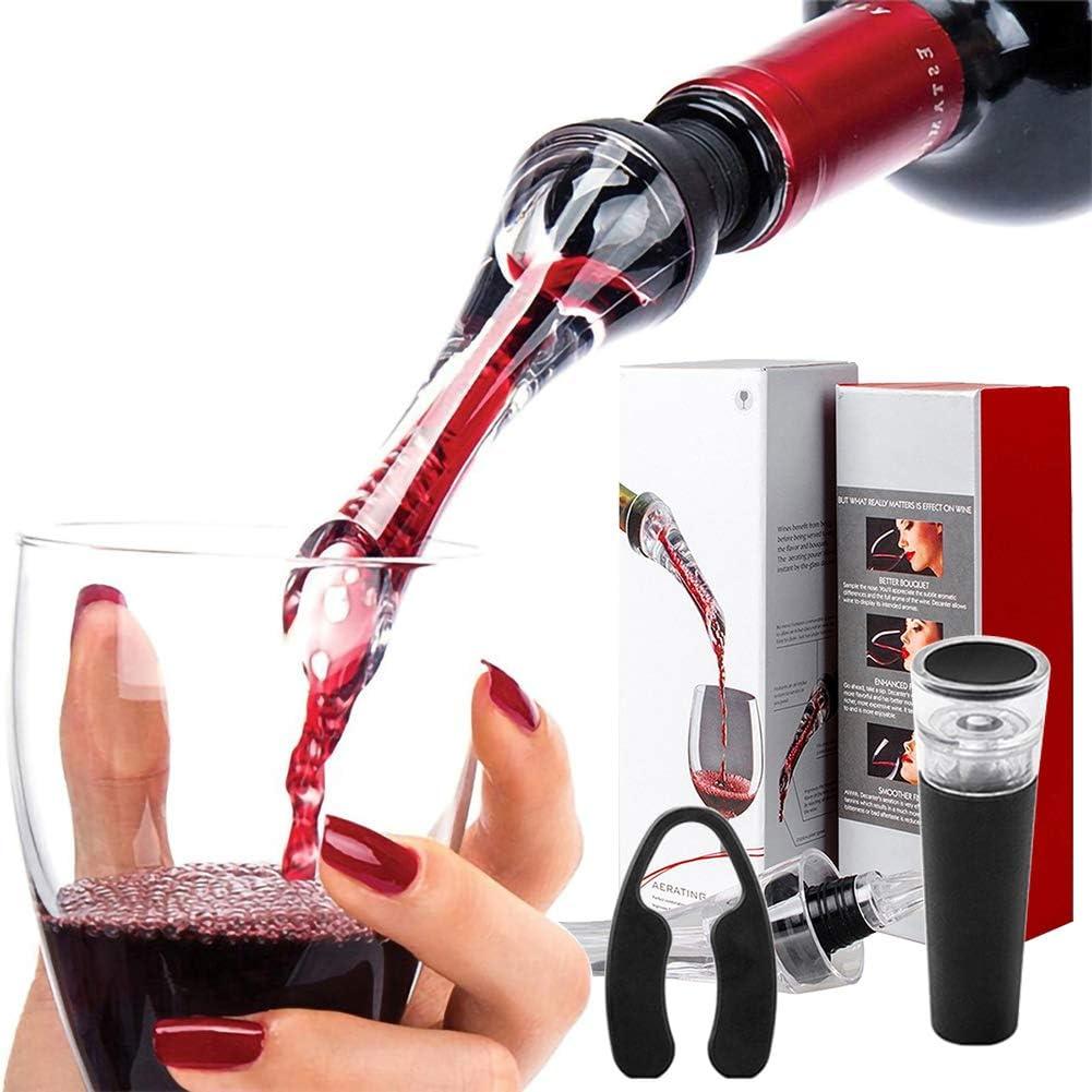 Wine Detroit Mall Purchase Aerator Pourer - Premium Aerating Gift Taste- Boost