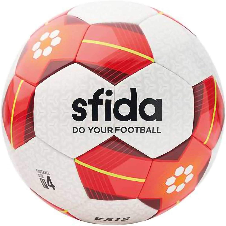Sfida (Sfida) soccer ball JFA test sphere thermal process EAFF E-1 CHAMPION SHIP East Asian Championship Vice Junior VAIS JR BSF-VA03 WHITE   RED 4 No.