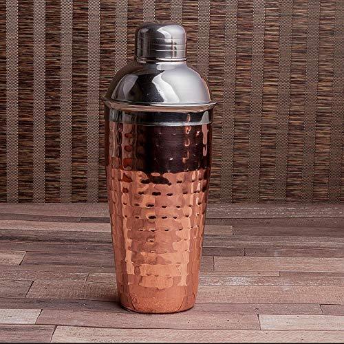 Coqueteleira Mirror Cheff Inox 25 Cm Etna Acobreado