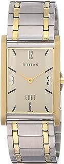Titan Analog Off-White Dial Men's Watch-NH1043BM01A