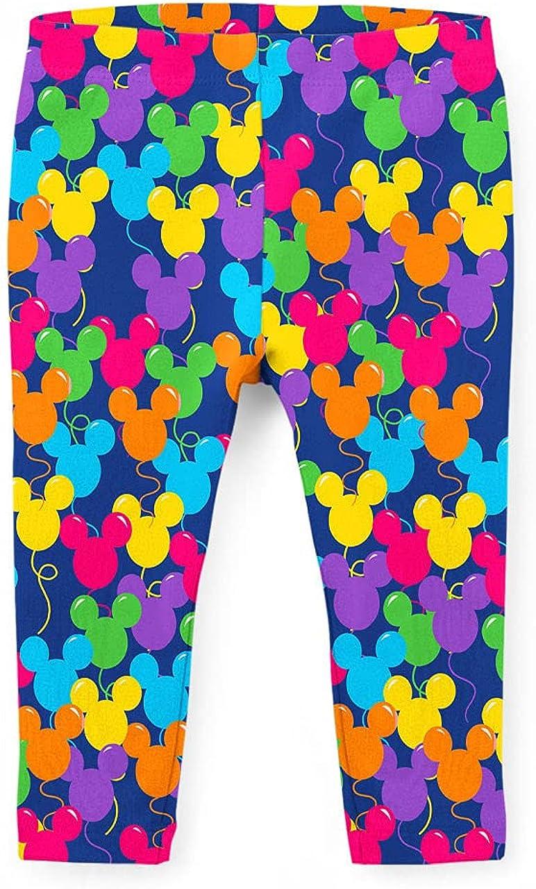 Girls' Capri Leggings - Mickey Ears Balloons Disney Inspired