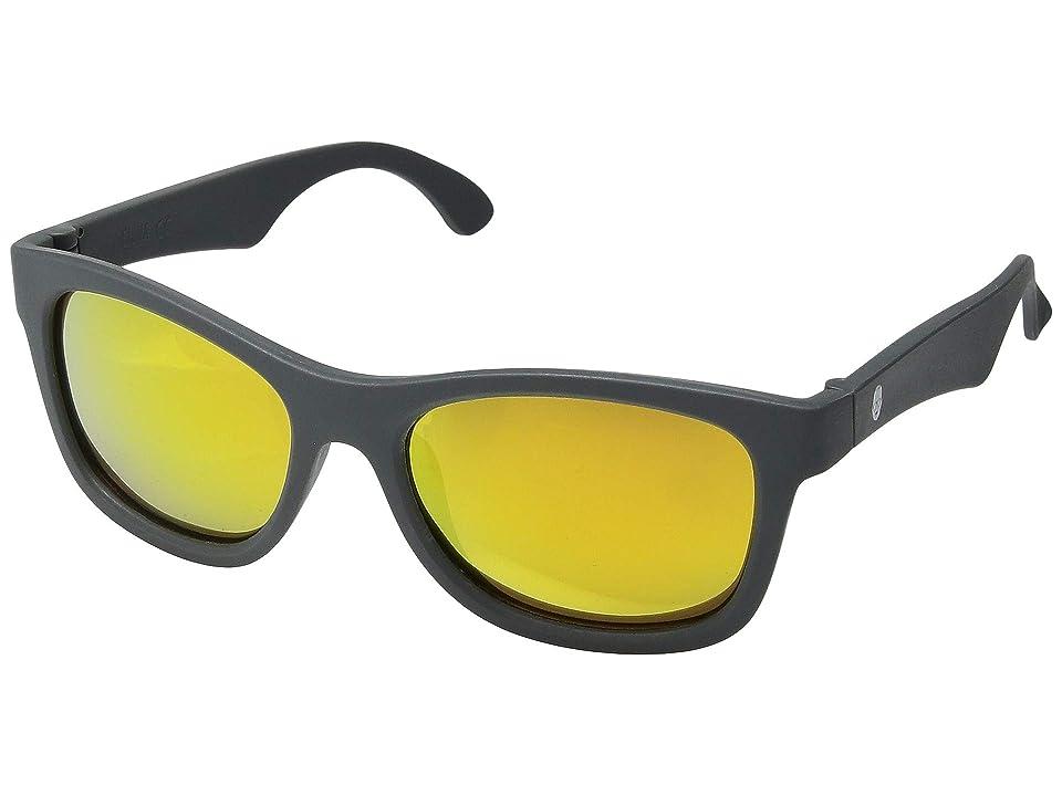 0440f2eabc Babiators Blue Series Navigator Polarized Sunglasses (6-10 Years) (Grey  with Orange Mirrored Lenses) Fashion Sunglasses
