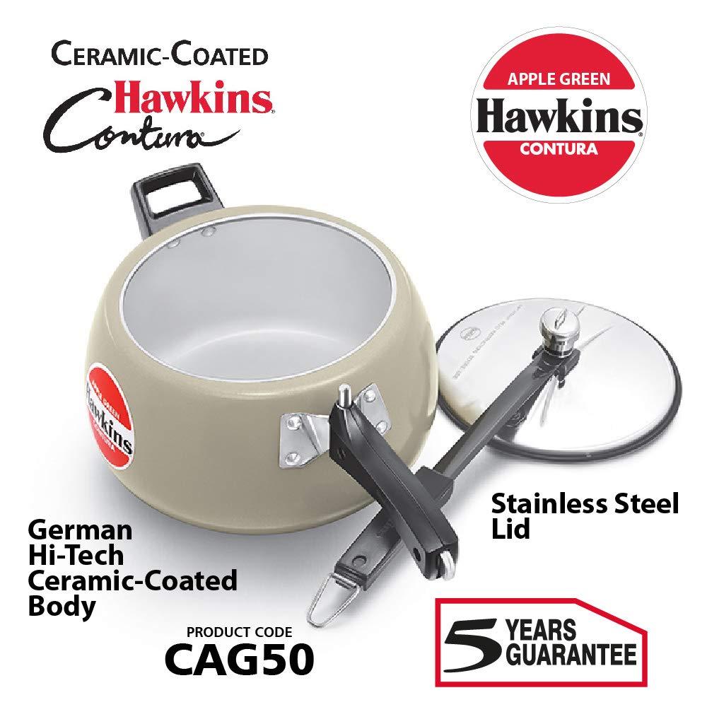 هوكينز قدر ضغط المنيوم، 5 لتر، CAG50