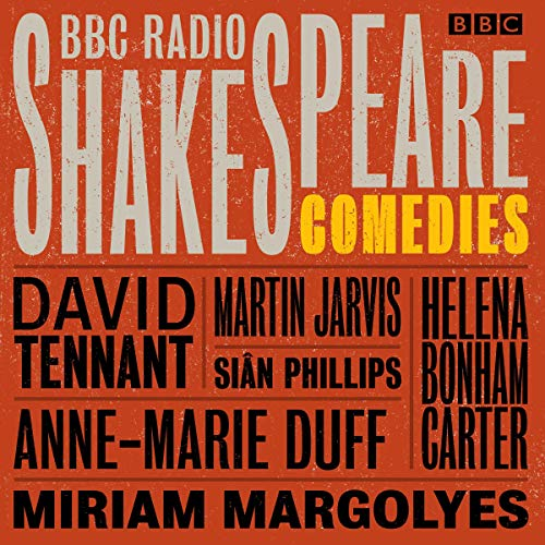 『BBC Radio Shakespeare: A Collection of Eight Comedies』のカバーアート