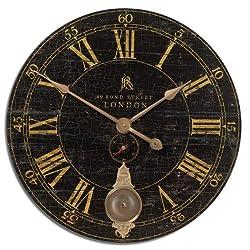 Uttermost Bond Street 30-Inch Wall Clock