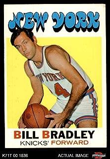 1971 Topps # 2 Bill Bradley New York Knicks (Basketball Card) Dean's Cards 5 - EX Knicks