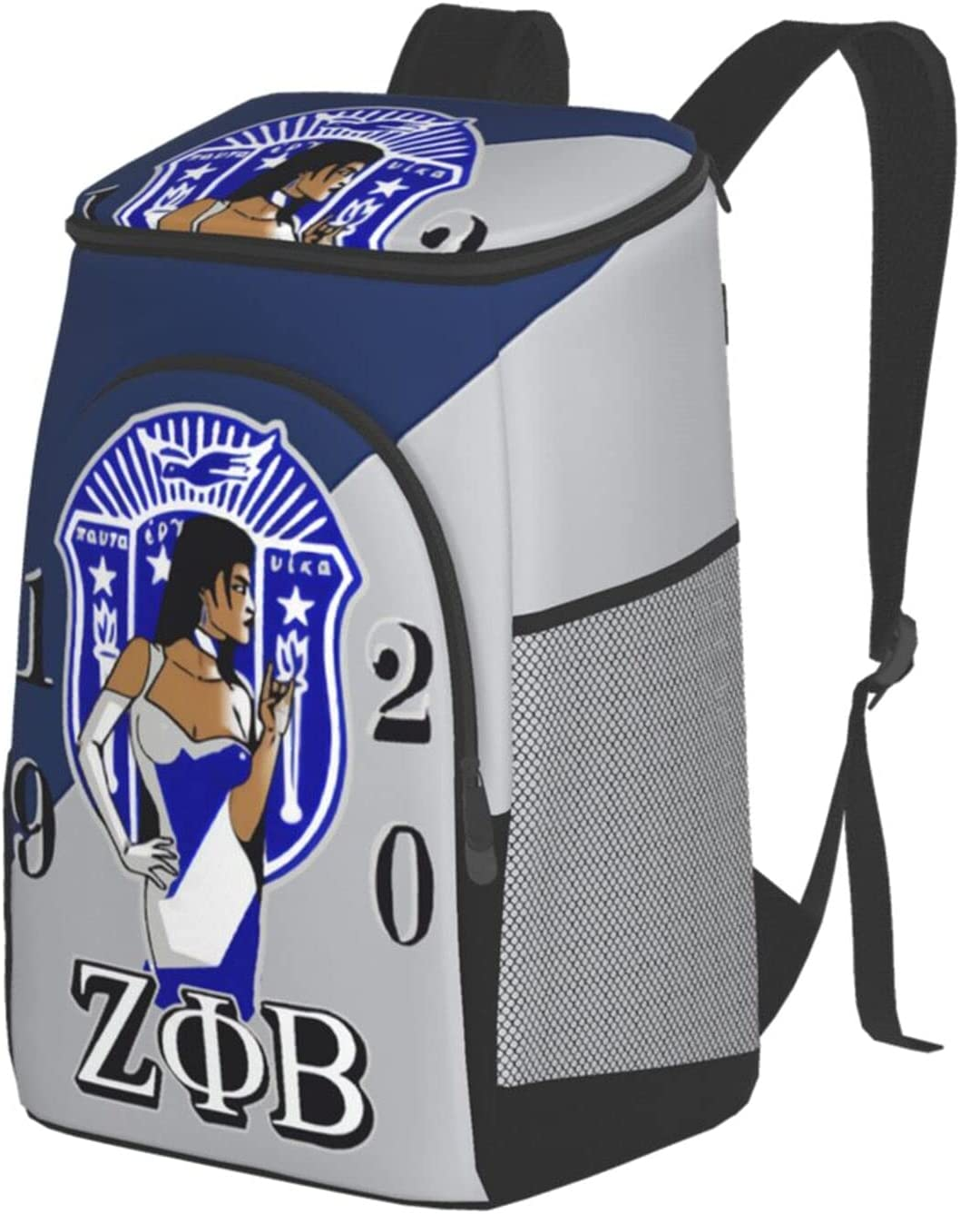 Zeta Phi Betalargethermal Insulated Fort Worth Mall Lunch Bargain - Bag Leakpro Reusable