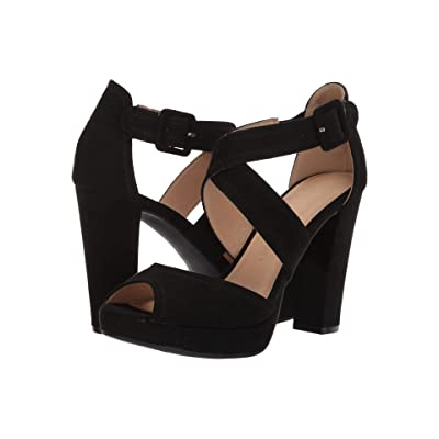 Chinese Laundry Abigail (Black Microsuede) High Heels