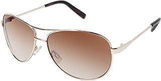 Jessica Simpson Women's J106 Metal Aviator Sunglasses with 100% UV Protection