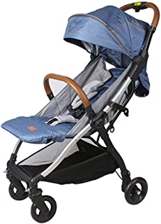 Lightweight Stroller Compact Suitable from Birth to 25 kg,for Toddlers,Pushchair, Buggy,Wind Rain Snow Weather Shield Protector, with Reclining Backrest, with One Hand Fold