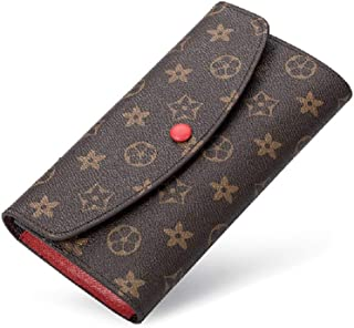 Wallets for Women Clutch Leather Large Purse RFID Blocking with Card Holder Organizer