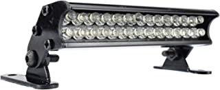 Apex RC Products 28 LED 70mm Aluminum Light Bar Fits Traxxas Rustler, Bandit, E-Revo, Nitro Rustler, Jato, Redcat Backdraft 3.5, ECX 1/18 Roost & More #9041L