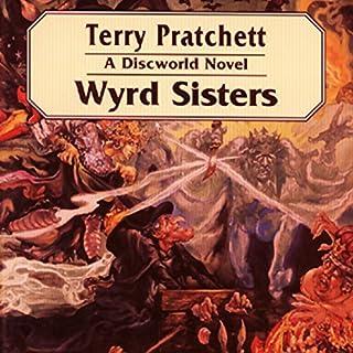 Wyrd Sisters audiobook cover art