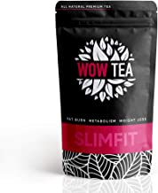 WOWTEA Slimfit Tea – Extra Powerful Slimming Tea with Organic Green Tea Yerba Mate Ginger – Revs Up Metabolism Curbs Food Cravings Boosts Fat Burn 150g Estimated Price : £ 19,90