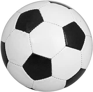 Balón de fútbol tradicional, talla 5, blanco y negro, poliuretano